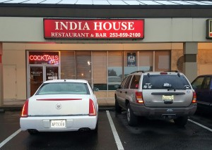 parking of india house kent restaurant washington